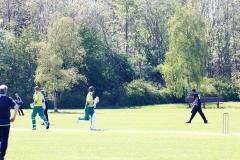 Kerteminde Cricketstadion viste sig fra sin bedste side I søndagens sommervejr.