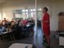 Friske elever fra Kerteminde på besøg